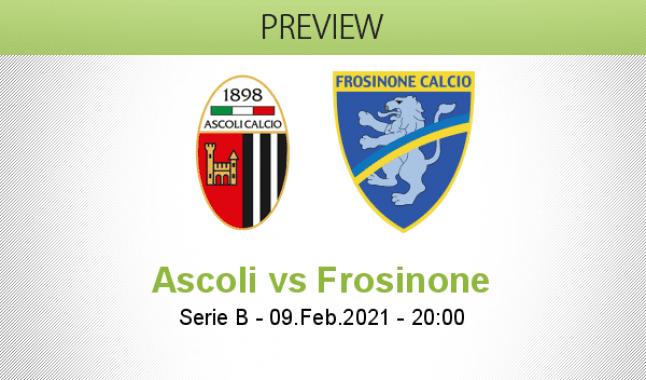 Ascoli vs Frosinone