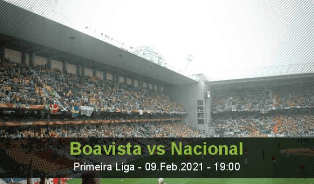 Boavista vs Nacional