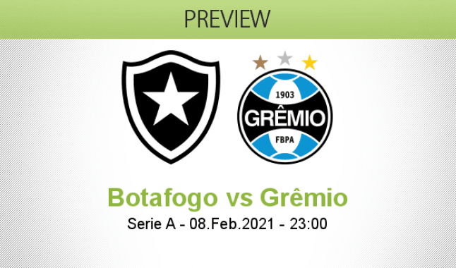 Botafogo vs Grêmio