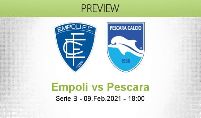 Empoli vs Pescara