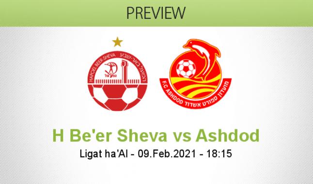 H Be'er Sheva vs Ashdod