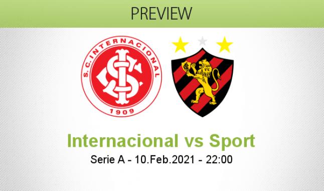 Internacional vs Sport
