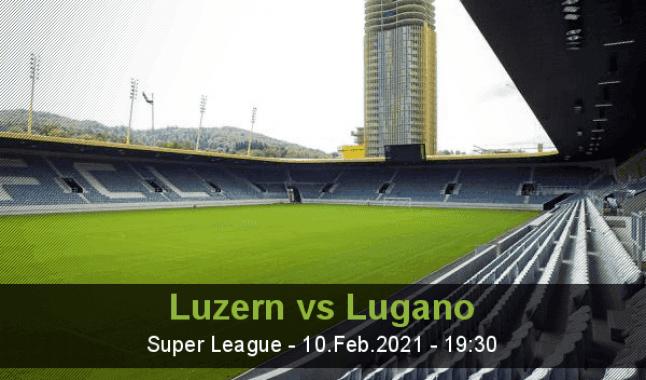 Luzern vs Lugano
