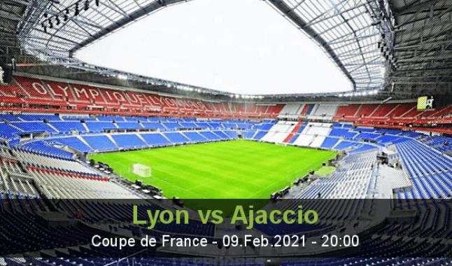 Lyon vs Ajaccio