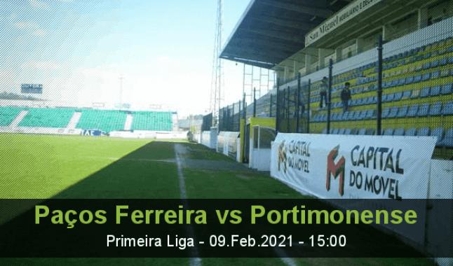 Paços Ferreira vs Portimonense