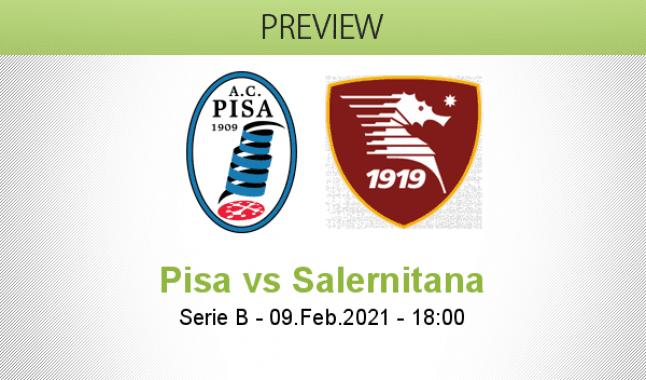 Pisa vs Salernitana