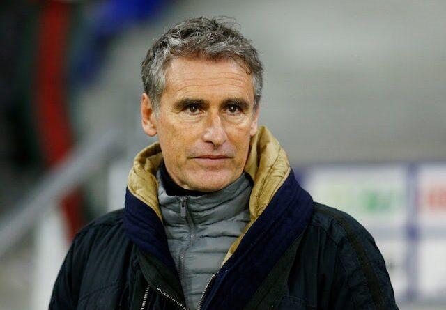 O treinador principal do Lyon, Rudi Garcia, fotografado em 9 de janeiro de 2021