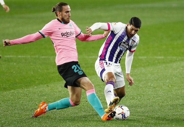 Sergio Ramos, do Real Madrid, tem um trecho em 14 de janeiro de 2021