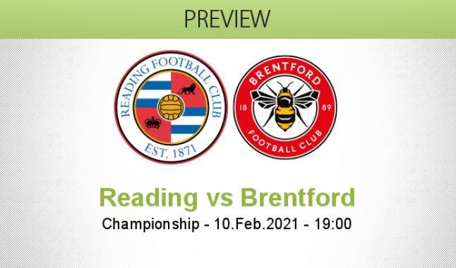 Reading vs Brentford
