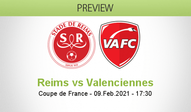 Reims vs Valenciennes