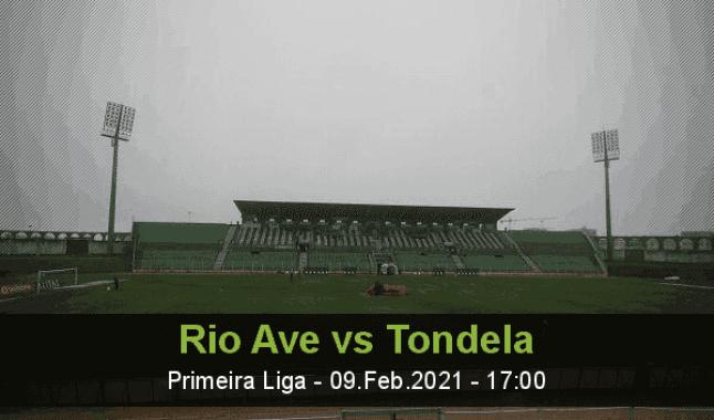 Rio Ave vs Tondela