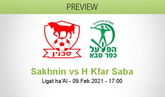 Sakhnin vs H Kfar Saba