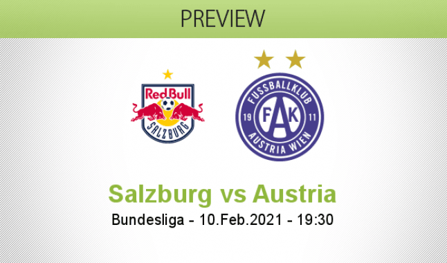 Salzburg vs Austria