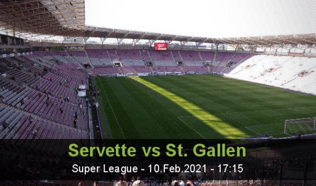 Servette vs St. Gallen