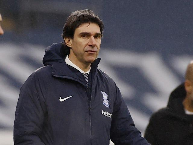 Birmingham City Manager Aitor Karanka, photographed on January 10, 2021
