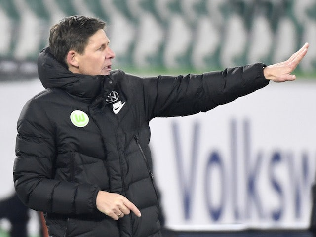 Wolfsburg coach Oliver Glasner, photographed on February 14, 2021