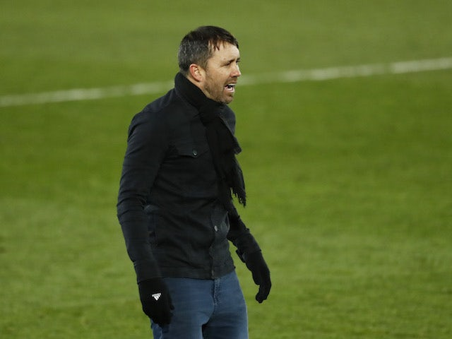 Eduardo Coudet, coach of Celta de Vigo, photographed in January 2021