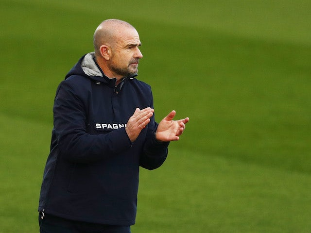 Levante coach Paco Lopez, photographed in January 2021