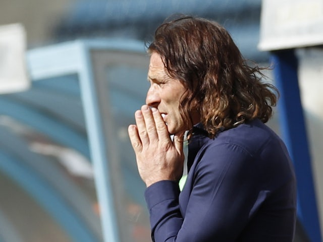 Gareth Ainsworth, manager of Wycombe Wanderers, photographed in September 2020