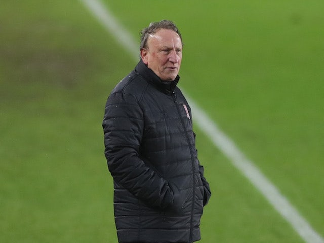 Neil Warnock, Middlesbrough manager, photographed in February 2021