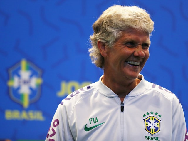 Brazil's female coach Pia Sundhage photographed in July 2019