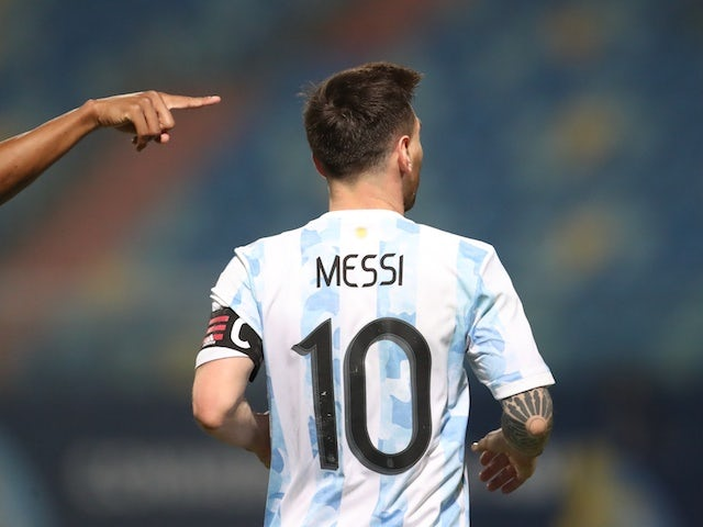 Lionel Messi of Argentina photographed on July 3, 2021