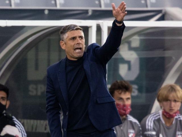 FC Dallas Head Coach Luchi González on May 30, 2021