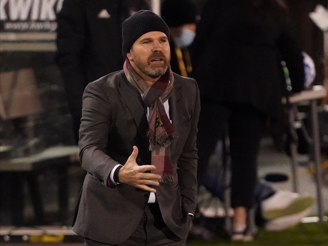 Greg Vanney, now in charge of the Los Angeles Galaxy (LA Galaxy), photographed in November 2020