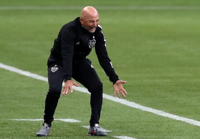 Atlético Mineiro coach Jorge Sampaoli photographed in November 2020