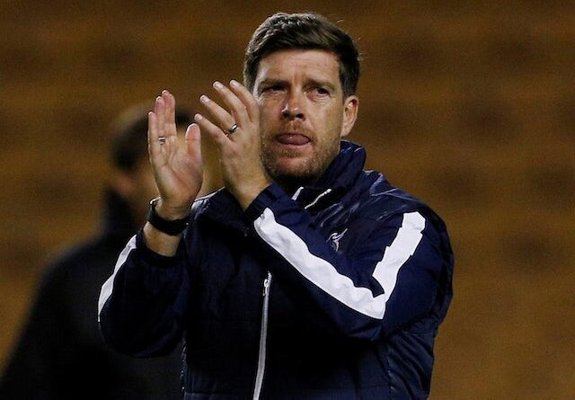 Darrell Clarke in charge of Bristol Rovers in September 2017
