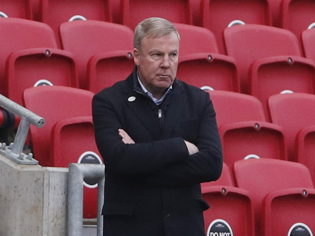 Portsmouth manager Kenny Jackett pictured on January 10, 2021