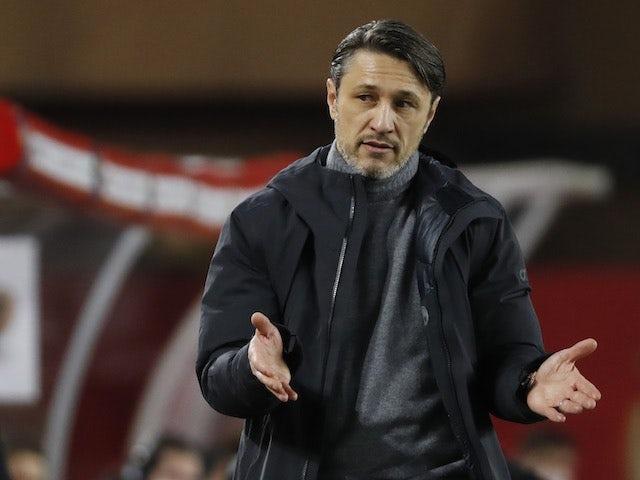 Monaco coach Niko Kovac pictured in February 2021