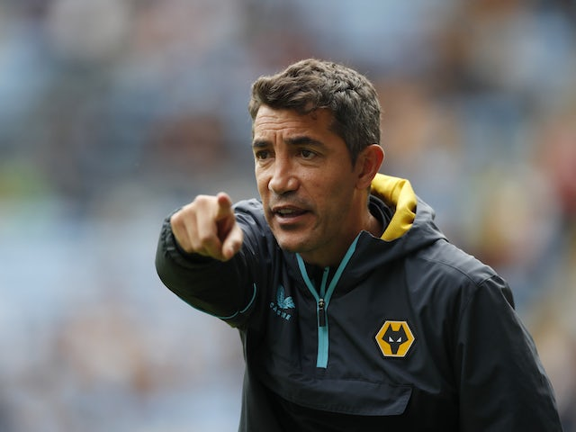 Wolverhampton Wanderers manager Bruno Lage pictured on August 1, 2021