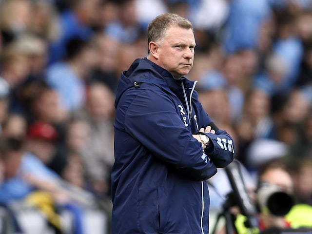 Coventry City manager Mark Robins pictured on August 8, 2021