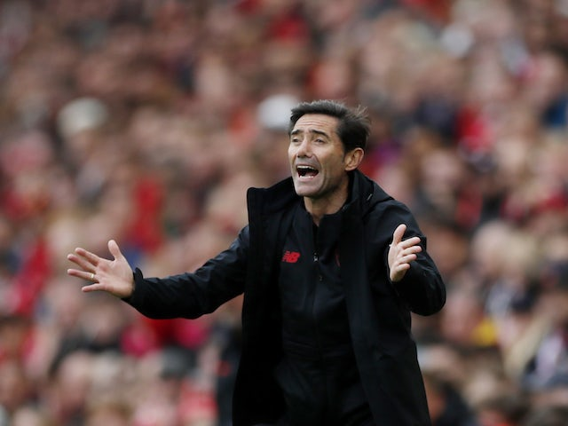 Athletic Bilbao coach Marcelino reacts on August 8, 2021