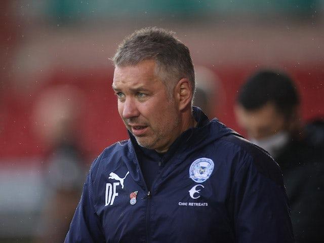 Peterborough United manager Darren Ferguson pictured in November 2020