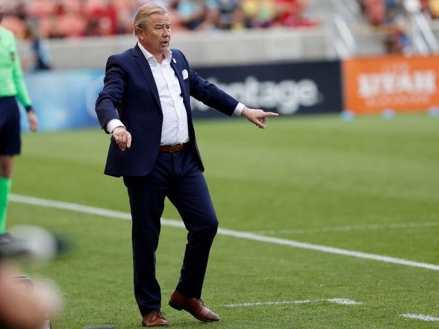 Minnesota United FC head coach Adrian Heath on May 30, 2021