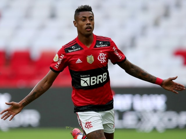 Bruno Henrique von Flamengo will celebrate his first goal on June 13, 2021