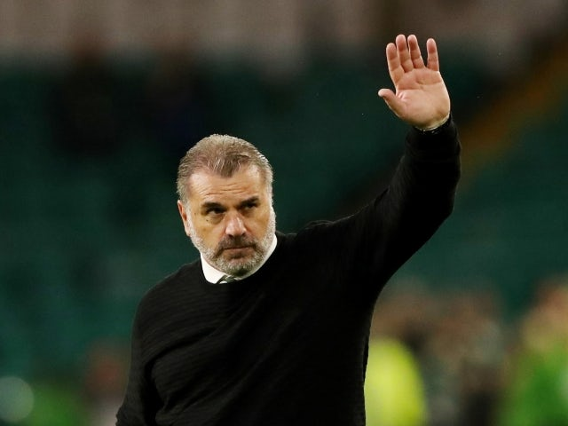 Celtic trainer Ange Postecoglou pictured on August 12, 2021