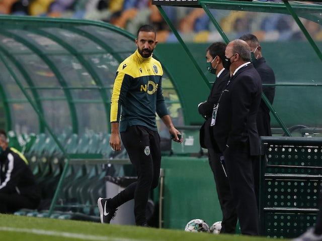 Sporting Lisbon coach Ruben Amorim pictured in October 2020