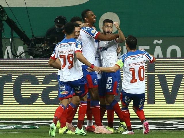 Bahias Luiz Otavio will celebrate his first goal on June 28, 2021