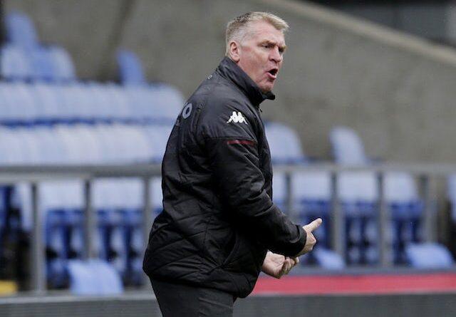 Aston Villa manager Dean Smith on May 16, 2021