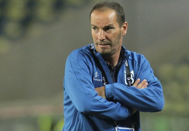 Belenenses head coach Petit pictured in July 2020
