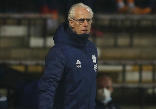 Cardiff City Manager Mick McCarthy pictured on February 16, 2021