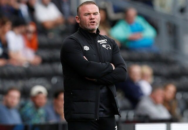 Derby County Manager Wayne Rooney pictured on August 7, 2021
