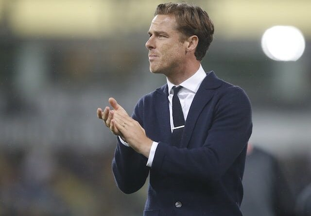 AFC Bournemouth manager Scott Parker reacts after the game on August 24, 2021