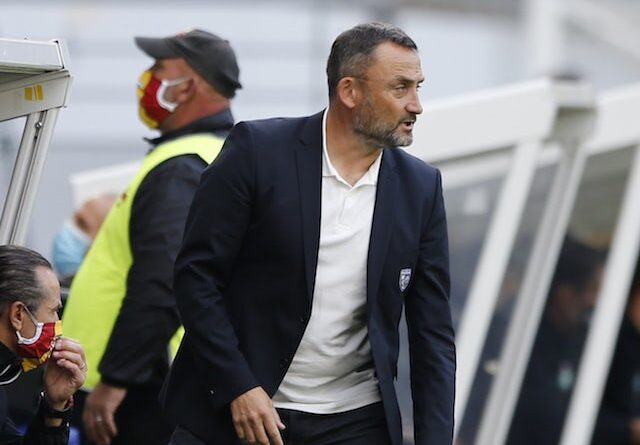 Lens head coach Franck Haise pictured in October 2020