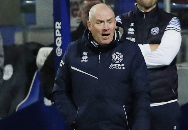 Queens Park Rangers QPR manager Mark Warburton pictured in December 2020