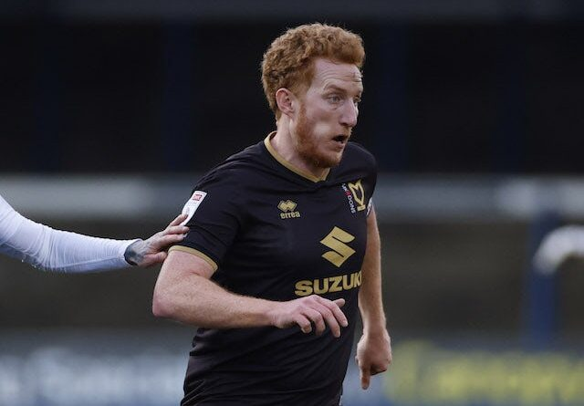 Dean Lewington of MK Dons pictured in January 2021