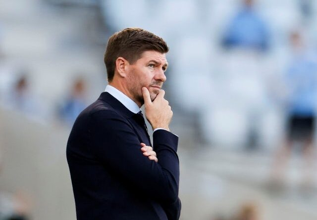 Rangers manager Steven Gerrard pictured on August 3, 2021